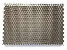 "25° Aluminum Honeycomb Grid - Diy - 2.5""x 3.5"" - Diffuser, Silver finish"
