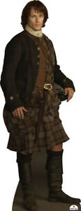 Sam Heughan as Jamie Fraser 031 Celebrity Cutout