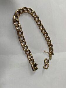 9ct Gold Bracelet Scrap Or Repair 10g