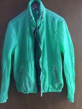 ARMANI Collezione Men Lightweight Jacket Size L/52 100% Authentic Bomber Polyest