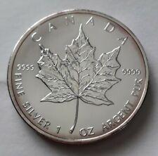 Canada 1oz Silver Maple 5 Dollars 2007