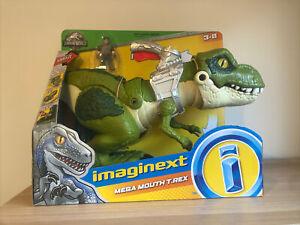 Imaginext Jurassic World Mega Mouth T.Rex Fisher Price Mattel