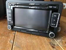 GENUINE VW RCD 510 TOUCHSCREEN  6 DISC MP3 CD CHANGER SD CARD