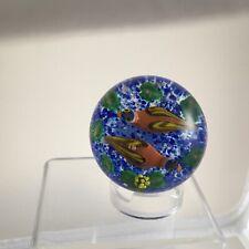 Scottish John Deacons Superb Lampwork Ducks Flower Glass Paperweight 1 of 1 2020