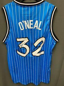 Shaquille O'neal #32 Signed Magic NIKE Jersey Autographed AUTO JSA COA Sz XL