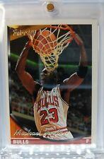 1993 93-94 Topps Gold Michael Jordan #23, Rare Parallel, Chicago Bulls HOF