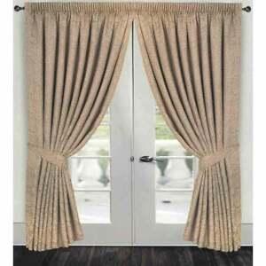 Paisley Jacquard Curtains Pelmets For Sale Ebay