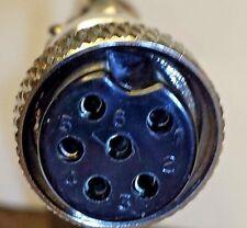 CEA-CBC6 Screw-Lock six-pin microphone connector