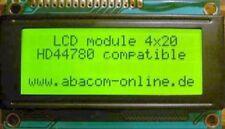 LCD Text-Display 4x20 Zeichen, beleuchtet, grün
