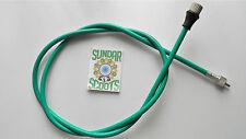 GP, Li, SX & TV COMPLETE 105cm Vert Câble pour indien lambretta type de Speedo