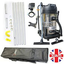 BUSINESS START UP OPPORTUNITY Gutter Cleaning Vac 20ft Pole Kit Holdall Camera