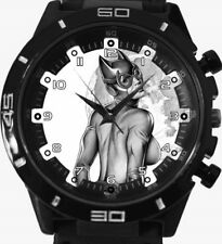 Catwoman Retro New Gt Series Sports Unisex Gift Wrist Watch