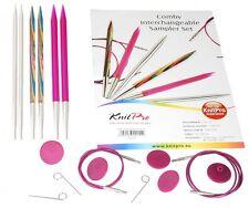 Knit Pro Intercambiables Agujas De Tejer Sampler Set I (kp20621)