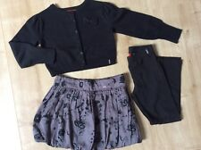 Mexx Mädchen  Pullover Strickjacke Gr.98/104 + Ballon Rock + Leggings  TOP!!!