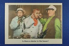 1959 Fleer - 3 Stooges - #83 Is there a doctor in the house! - Ex/Mt