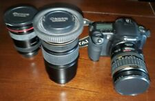 New ListingCanon Eos 10D Digital Slr Camera Bundle (3 Lenses) + Accessories