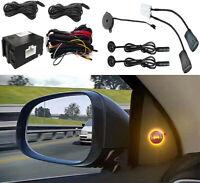 Universal Car Blind Spot Monitoring Ultrasonic Sensor with Reversing assist-1set