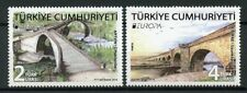 Turkey 2018 MNH Bridges Europa 2v Set Bridge Architecture Stamps