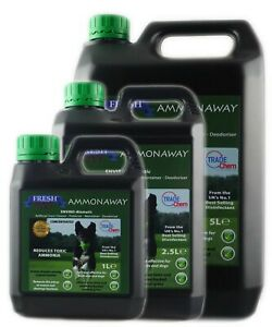 Artificial Grass Cleaner Anti-Bac Ammonia Remover Ammonaway Fresh Pet
