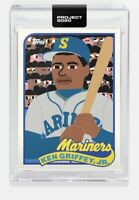 Topps PROJECT 2020 #88 -1989 Ken Griffey Jr Mariners Keith Shore Rookie Card RC