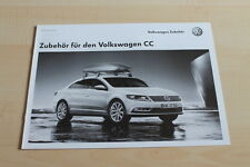 99309) VW Passat CC Zubehör Preisliste Prospekt 01/2012