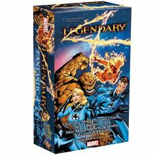 MARVEL LEGENDARY DECK BUILDING GAME: FANTASTIC FOUR New Sealed