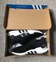 Adidas Originals EQT Racing ADV Sneakers, Black/White (Women's 8)