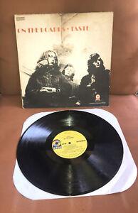 "TASTE ""On The Boards"" LP EX VINYL Orig 1970 ATCO SD 33-322 US First Press"