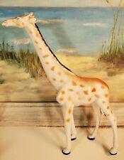 "Girafffe Toy Figure Figurine Pvc 7.5"" Vintage 1998"