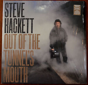 Steve Hackett Out Of The Tunnel's Mouth LP Ld Ed Smokey Vinyl – 0505381 – Mint