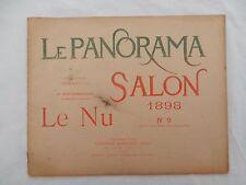 revue Le Panorama Salon 1898 n°9 - Le Nu - 16 photographies de Neurdein Frères