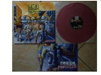 BLATOIDEA * PESTICIDE * RARE RED VINYL LP+POSTER HEADCHECK HEAD 008 PLAYS GREAT