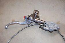 2008 KTM 450 SXF Hydraulic Clutch Perch Lever Master Slave SX-F 11