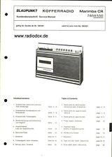 Blaupunkt Service Manual Kundendienstschrift Marimba CR 7659550