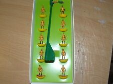 Melchester Rovers anni 1970 AWAY KIT SUBBUTEO TOP SPIN TEAM