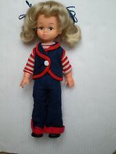"VINTAGE PLAYMATES AMANDA Jane CLONE Girl 10"" (25 cm) bambola outfit 70 S ORIGINALE"