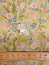 "HYDRANGEA BY WILMINGTON PRINTS 100% COTTON FABRIC 45"" WIDTH SOLD BY YARD FH-1277"