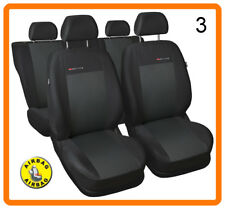 CAR SEAT COVERS full set fit Nissan Micra charcoal grey
