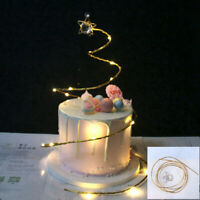 Iron Cake Topper Happy Birthday Wedding Party Cupcake Cake Desert Decor Supplies