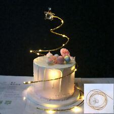 Iron Cake Topper Happy Birthday Wedding Cupcake Cake Desert Decor Supplies