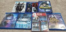 Sci-Fi Movie Lot blu-rays and dvds