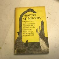 Edward GOREY Sisters of Sorcery Two Centuries of Witchcraft Stories '76 HB DJ!
