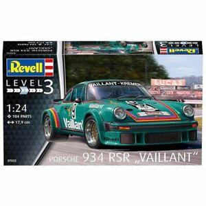 "Revell 1/24 Porsche 934 RSR ""Vaillant"" Kit (New)"
