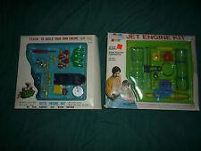 Vintage Toy Engine Model Kits- Lot of 2- New! Never Used/Bulit!