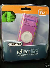 Griffin Reflect Mirrored Case for Apple iPod Nano Pink