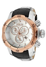 Swiss Made Invicta 10810 Reserve Venom Chronograph Silver Dial Mens Watch
