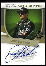 2012 Press Pass Fanfare  AUTO/Autograph JAMES BUESCHER #ed 91/99