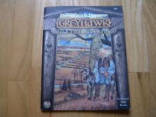 Advanced Dungeons & Dragons GREYHAWK - Guía del Jugador - TSR MR juego rol