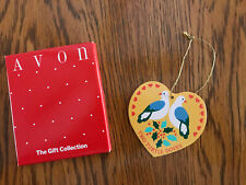 Vintage Avon~Twelve Days Of Christmas Ornament~Two Turtle Doves