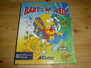 The Simpsons - Bart Vs the World - NEW / Sealed - ATARI ST